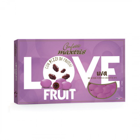 Confetti Maxtris Love fruit uva