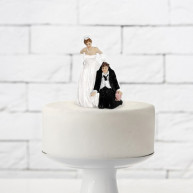 Cake topper ti prendo per il colletto