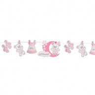 Festone decorativo baby girl