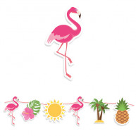 Festone Flamingo Party
