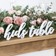 Lettere kids table