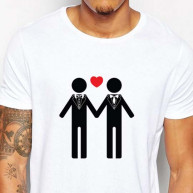 T-shirt lui e lui love