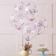 Palloncini tea party 5 pezzi