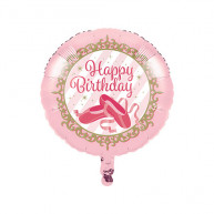 """Palloncino foil ballerina twinkle toes 18"""""""