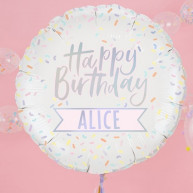 Palloncino personalizzabile happy birthday