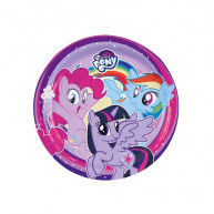 Piatto 23 cm My little pony 8 pz