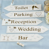 Segnaletica per wedding Romantic