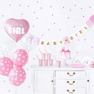 Set baby shower rosa 49 pezzi