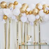 Kit decorativo gold party