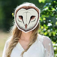 Woodland mask - civetta marthas cottage