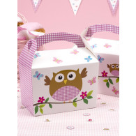 Lunch box baby girl 8 pezzi