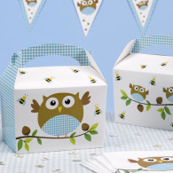 Lunch box baby boy 8 pezzi