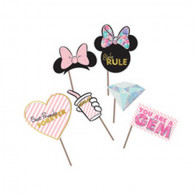 Photo booth 3D Minnie Party Gem