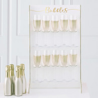 Stand bollicine gold wedding