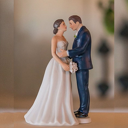 Cake topper Sposi dolce amore