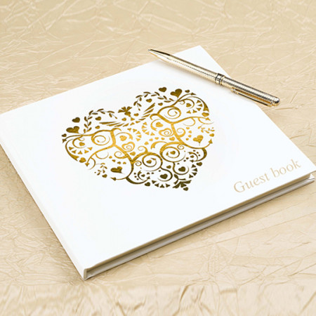 guest-book-cuore-vintage-oro