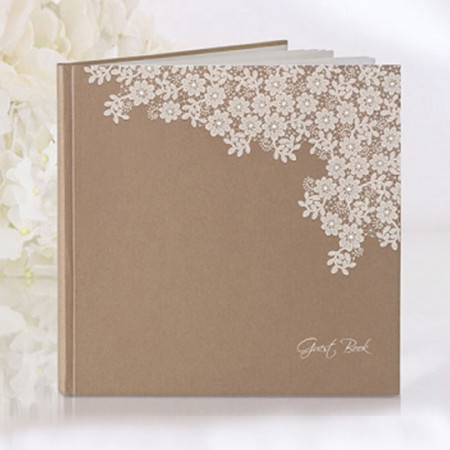 Guest book Country margherite