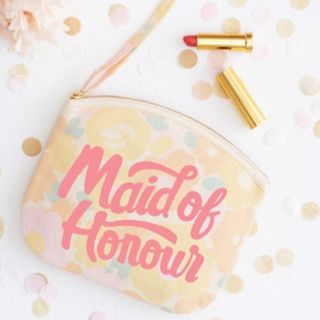 Pochette main of honour floral