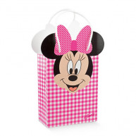 Bag minnie's party disney rosa 10 pezzi
