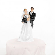 Cake topper Sposi cinema