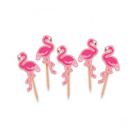 Picks Flamingo Sagomati 25 pezzi