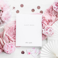 Guest book Better together bianco