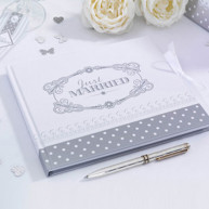 Guest book Chic argento