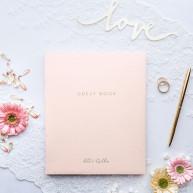 Guest book Better together rosa