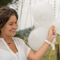 Palloncini just married gold 8 pezzi