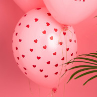 Palloncino cuore rosa always e forever