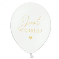 Palloncini just married cuoricino 50 pezzi