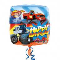 "Pallone foil Standard 17"" Blaze Happy Birthday"