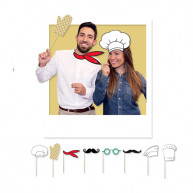 Photobooth Chef 8 pezzi