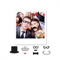 Photobooth Weddings 8 pezzi