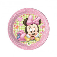 Piatto Piccolo Baby Minnie 8 pz