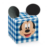 Scatola cubo mickey's party disney blu 10 pezzi