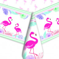 Tovaglia in Plastica Flamingo Party