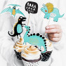 Toppers party dinosauro 5 pezzi