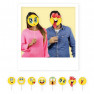Kit per photobooth Emoticons 8 pezzi