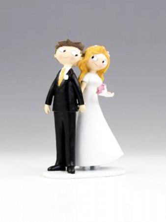 CAKE TOPPER - INTERLACED HANDS