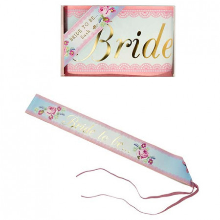 Fascia Bride to be Rose vintage