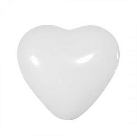 100 BALLOONS WHITE HEART