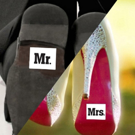 Stickers Mr e Mrs