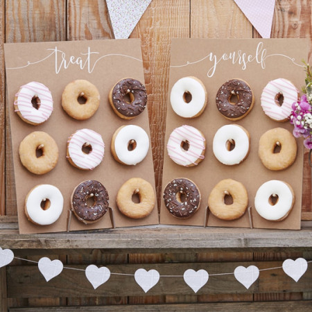 Wedding stand donuts