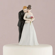 CAKE TOPPER - ROMANTIC HUG