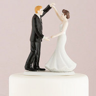 CAKE TOPPER - ROMANTIC DANCE