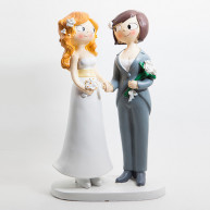 CAKE TOPPER - GIRLS HAND BY HAND