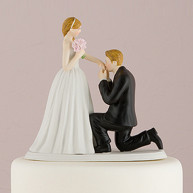 CAKE TOPPER - KNEELING TO YOU