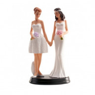 Cake topper she and she