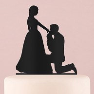 CAKE TOPPER KNEELING TO YOU